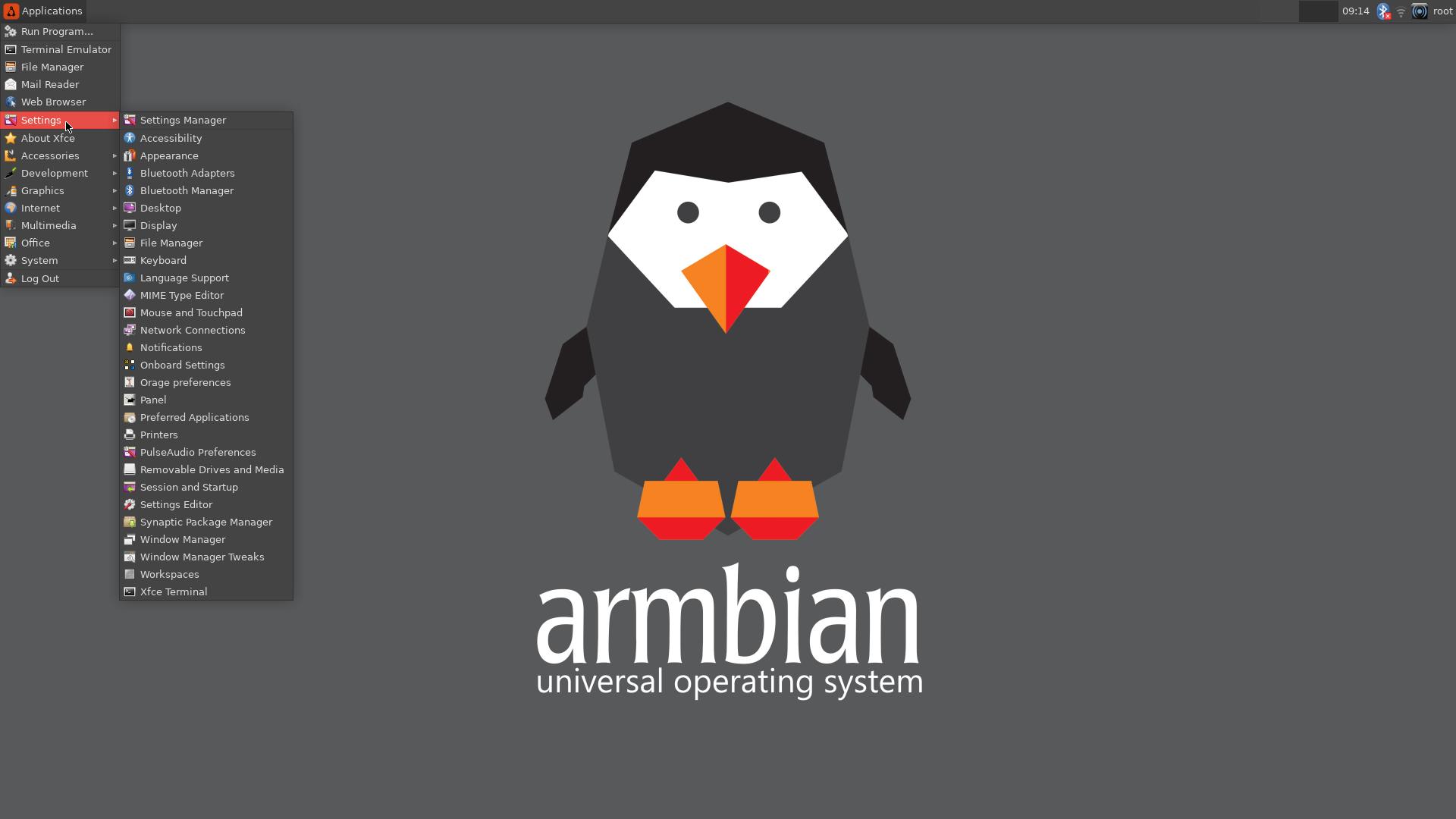 Armbian Desktop